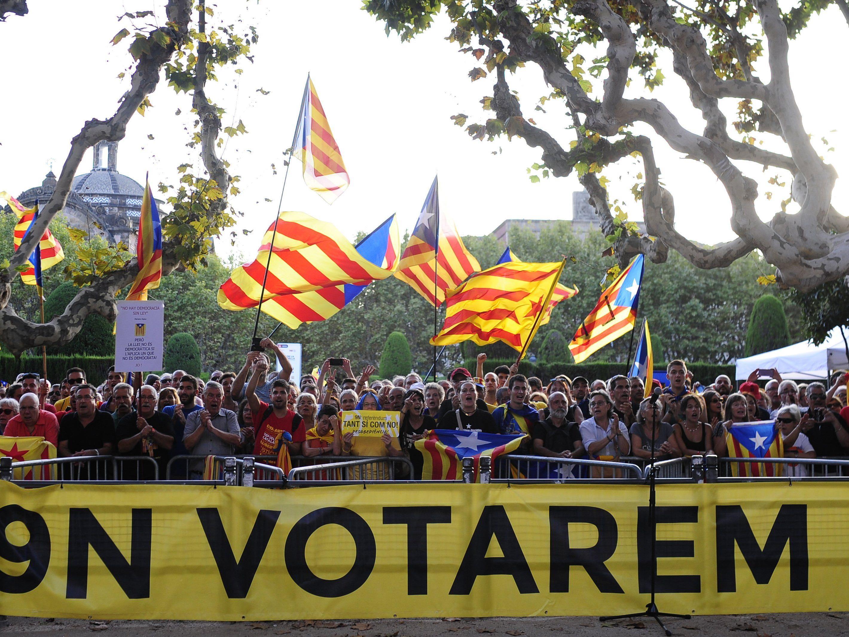 Unabhängigkeitsreferendum in Katalonien: Ergebnis müsse nicht zwingend umgesetzt werden.