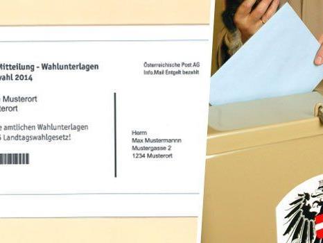 Von Dienstag bis Freitag werden die Wahlunterlagen verschickt.