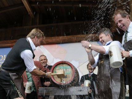 Am Donnerstagmittag wurde das Wiener Wiesn-Fest feierlich eröffnet.