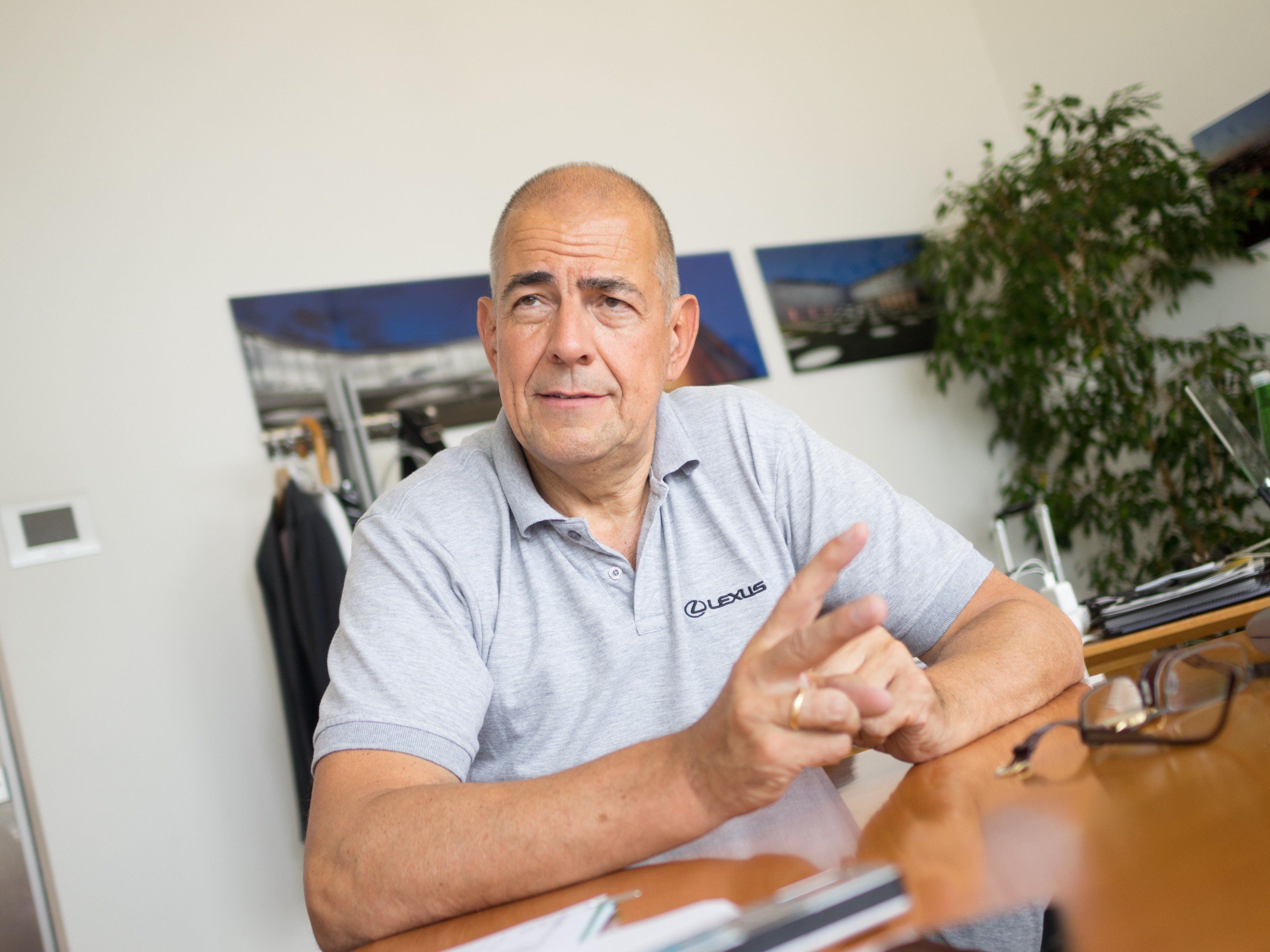 Zumtobel: Mehrmarken-Strategie-Ausweitung geplant. Im Bild: CEO Ulrich Schumacher.