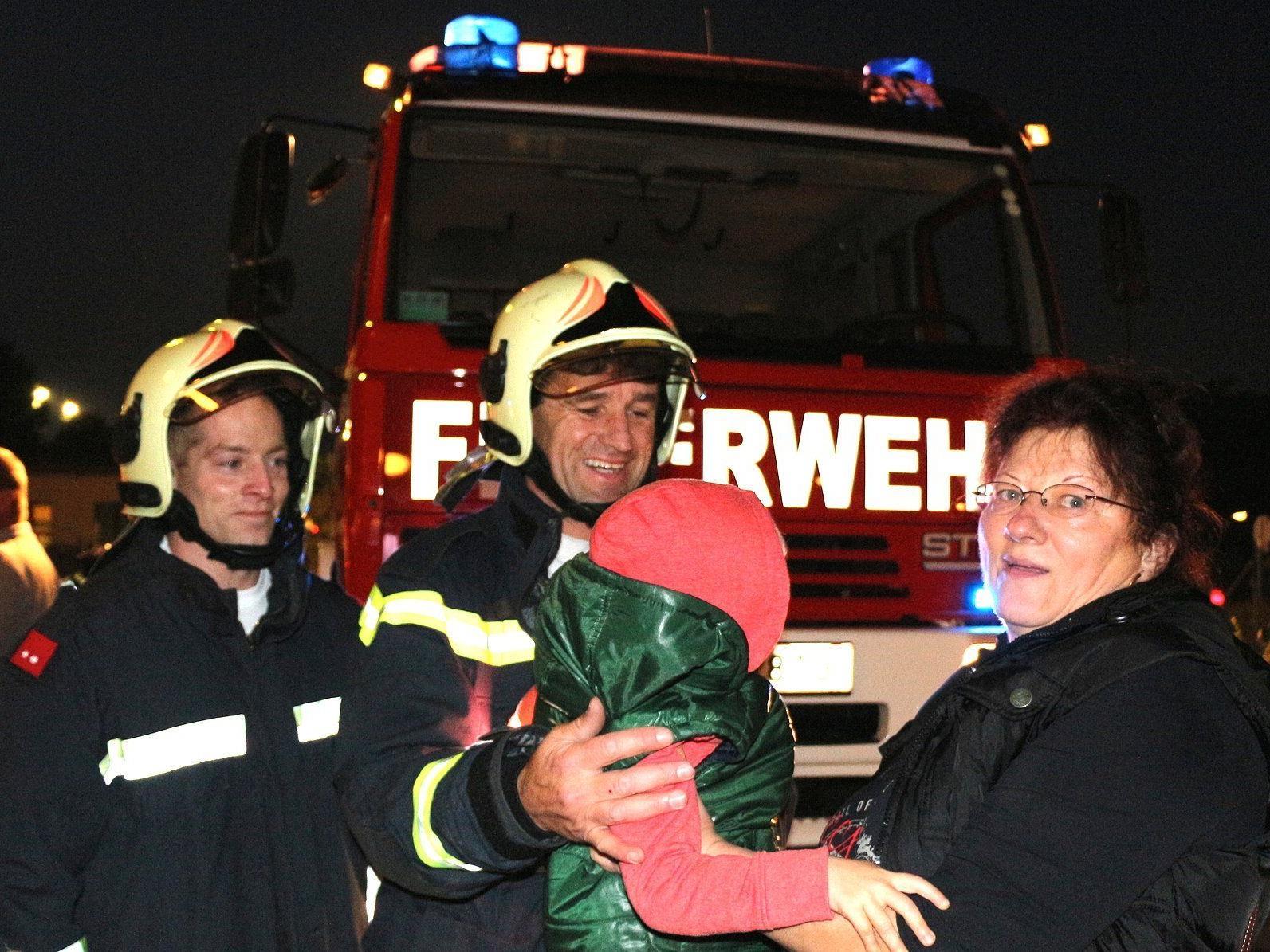 Ungewöhnlicher Einsatz der Freiwilligen Feuerwehr Brunn am Gebirge.