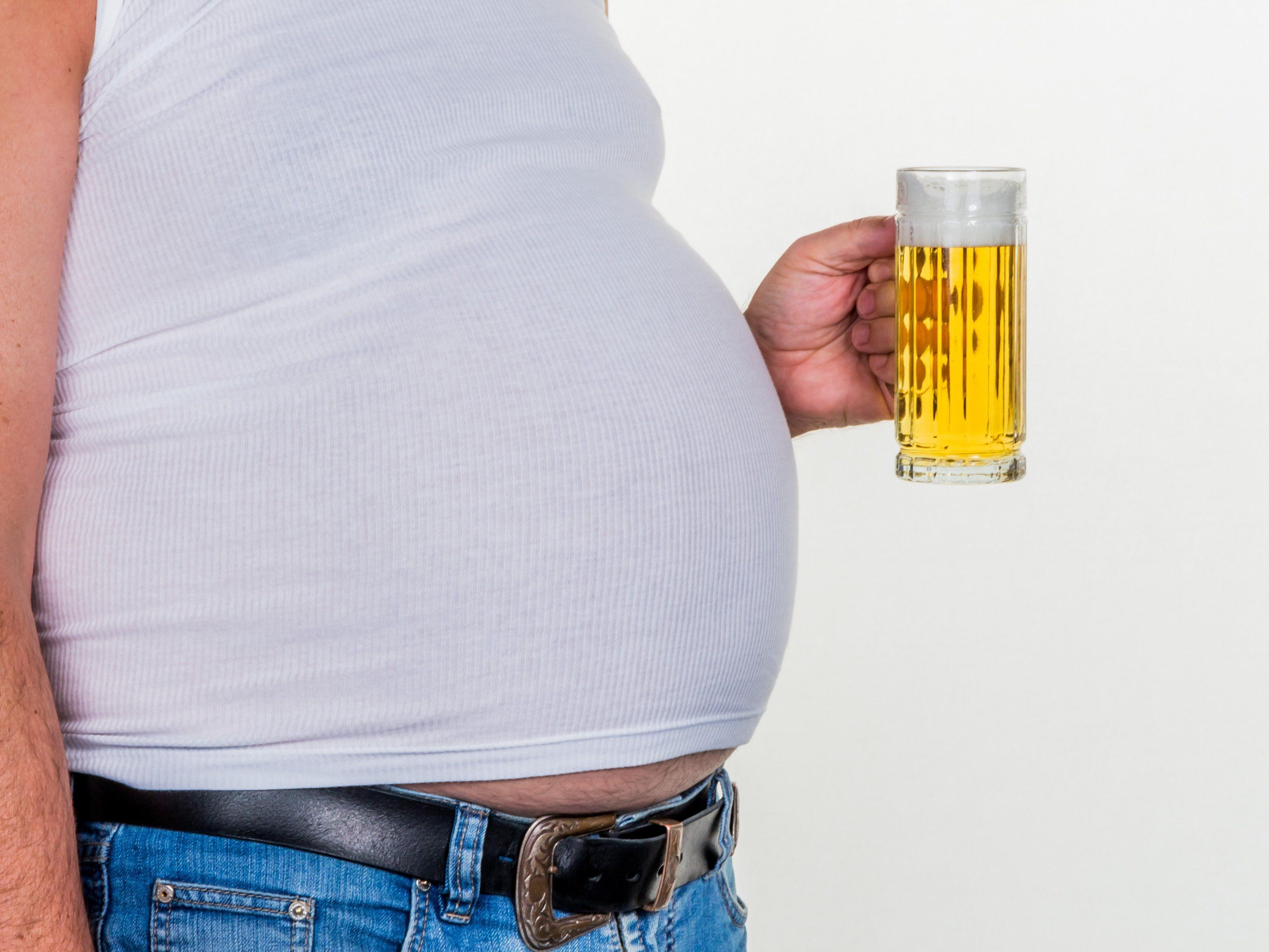 Ein größer Bauch hat also doch seine Vorteile.