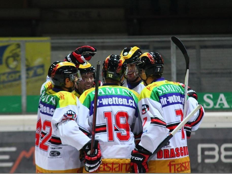 5:2-Auswärtssieg der VEU Feldkirch in Kranj