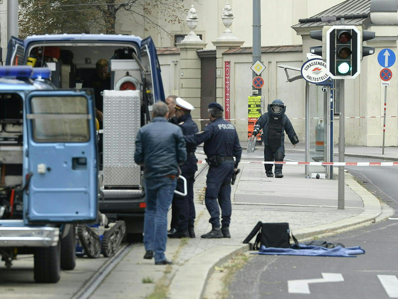 Bombenalarm am Wiener Schwarzenbergplatz