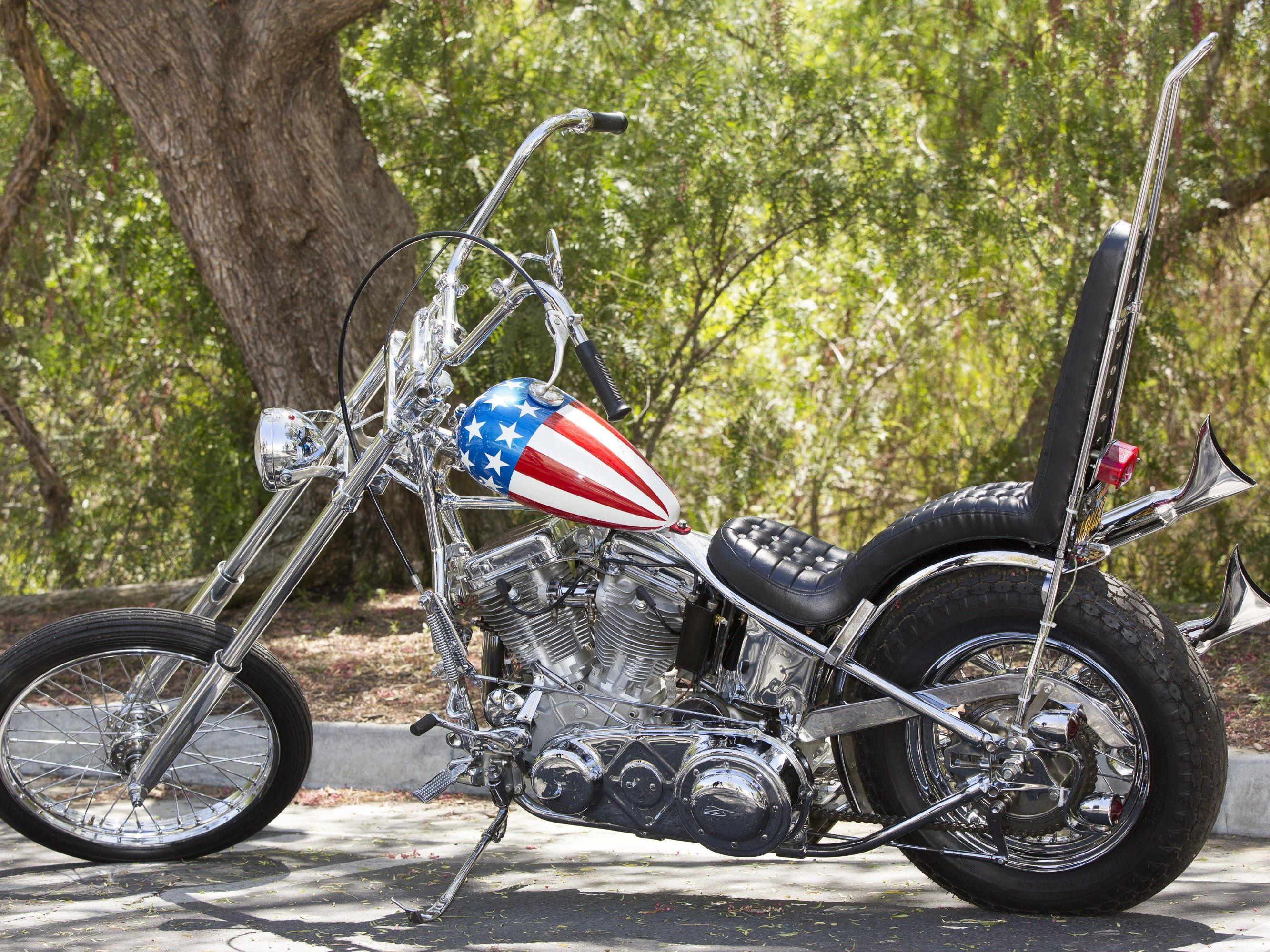 1,35 Mio. Dollar für die Harley Davidson.