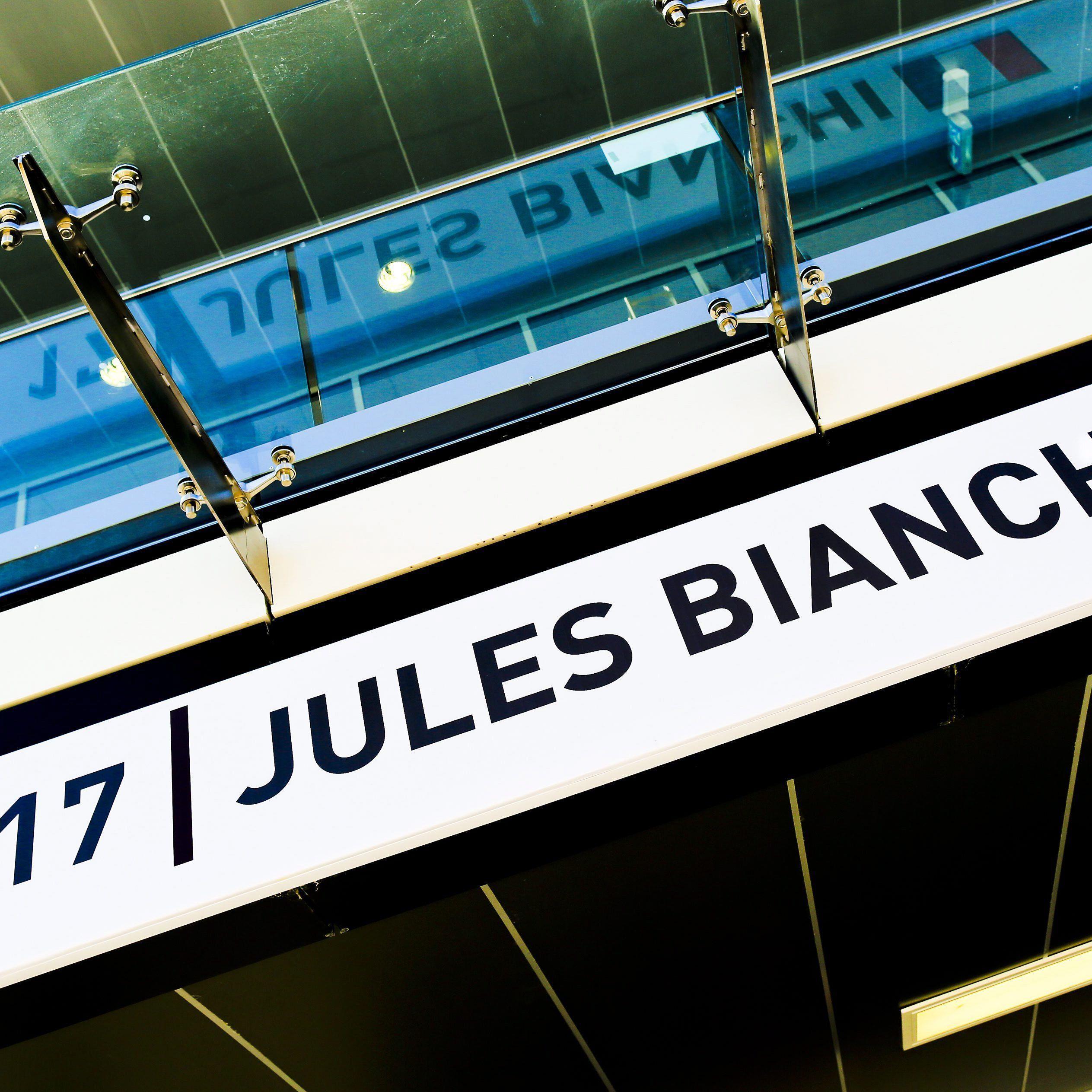 """Mitteilung der Familie von Jules Bianchi: """"Wir gehen die Dinge Schritt für Schritt an""""."""
