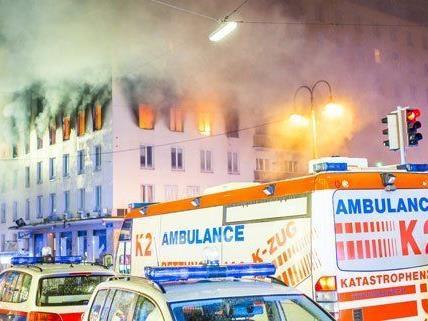 Eine Person kam bei dem Brand im April ums Leben.