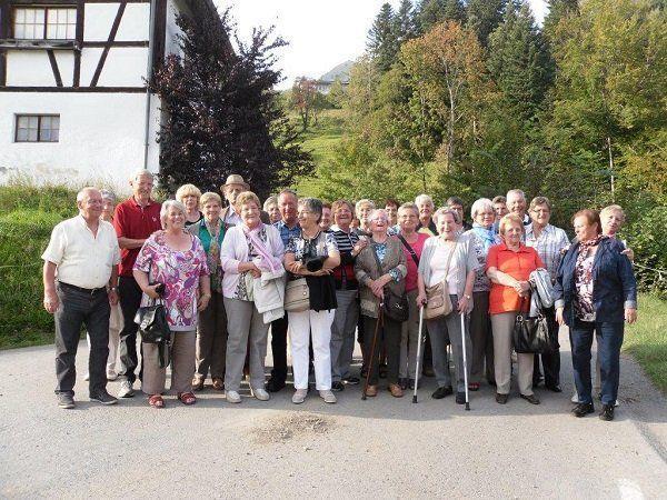 Pressebericht Ausflug nach St. Gerold
