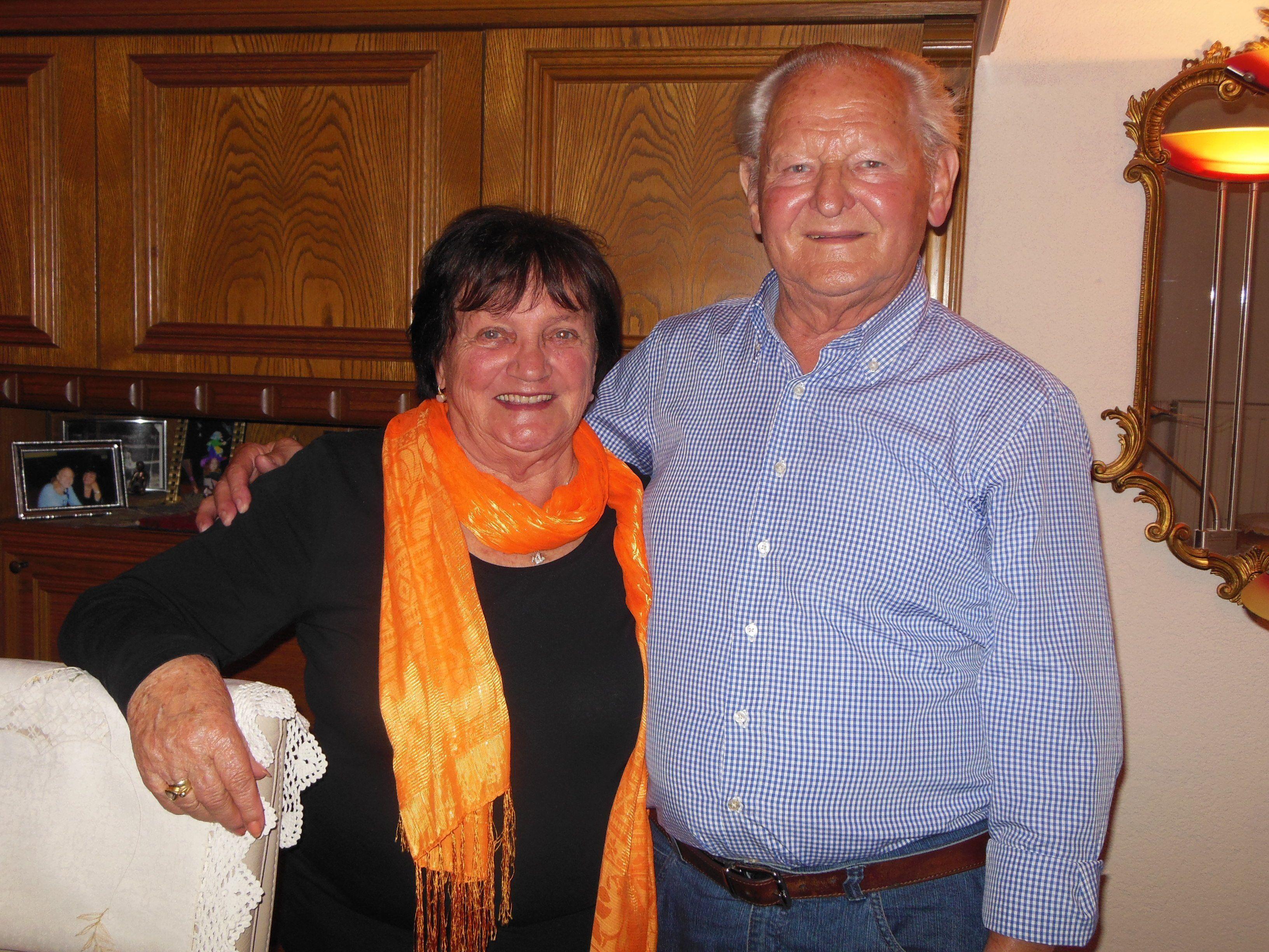 Diegute Laune des Paares ist ansteckend und ein Markenzeichen von Ortrun und Kurt Witzgall.