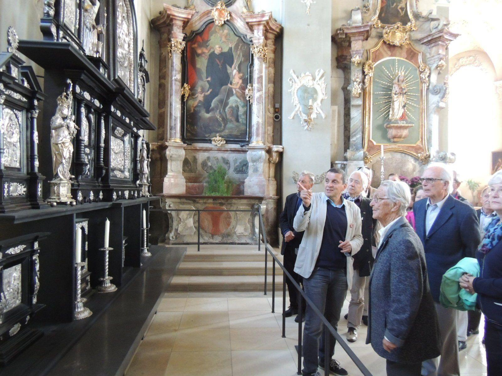 Mag. Hartmut Vogl informierte die BesucherInnen