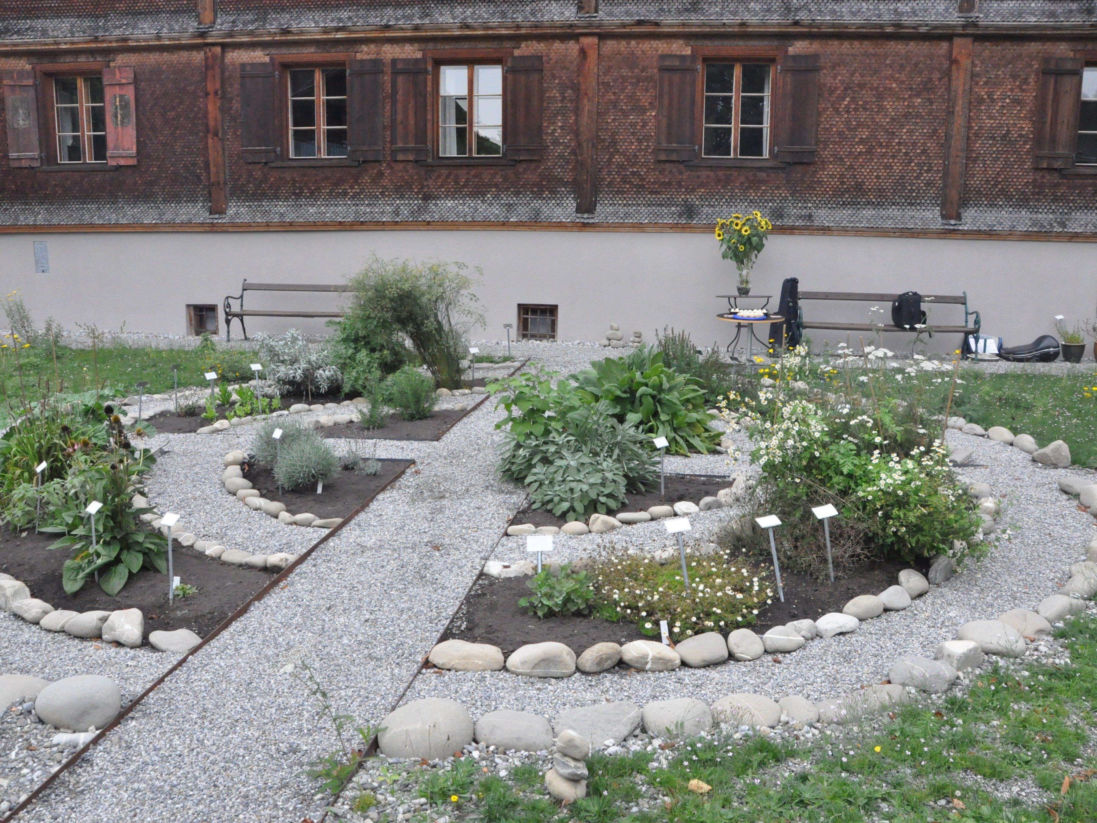 Der neue Kräutergarten