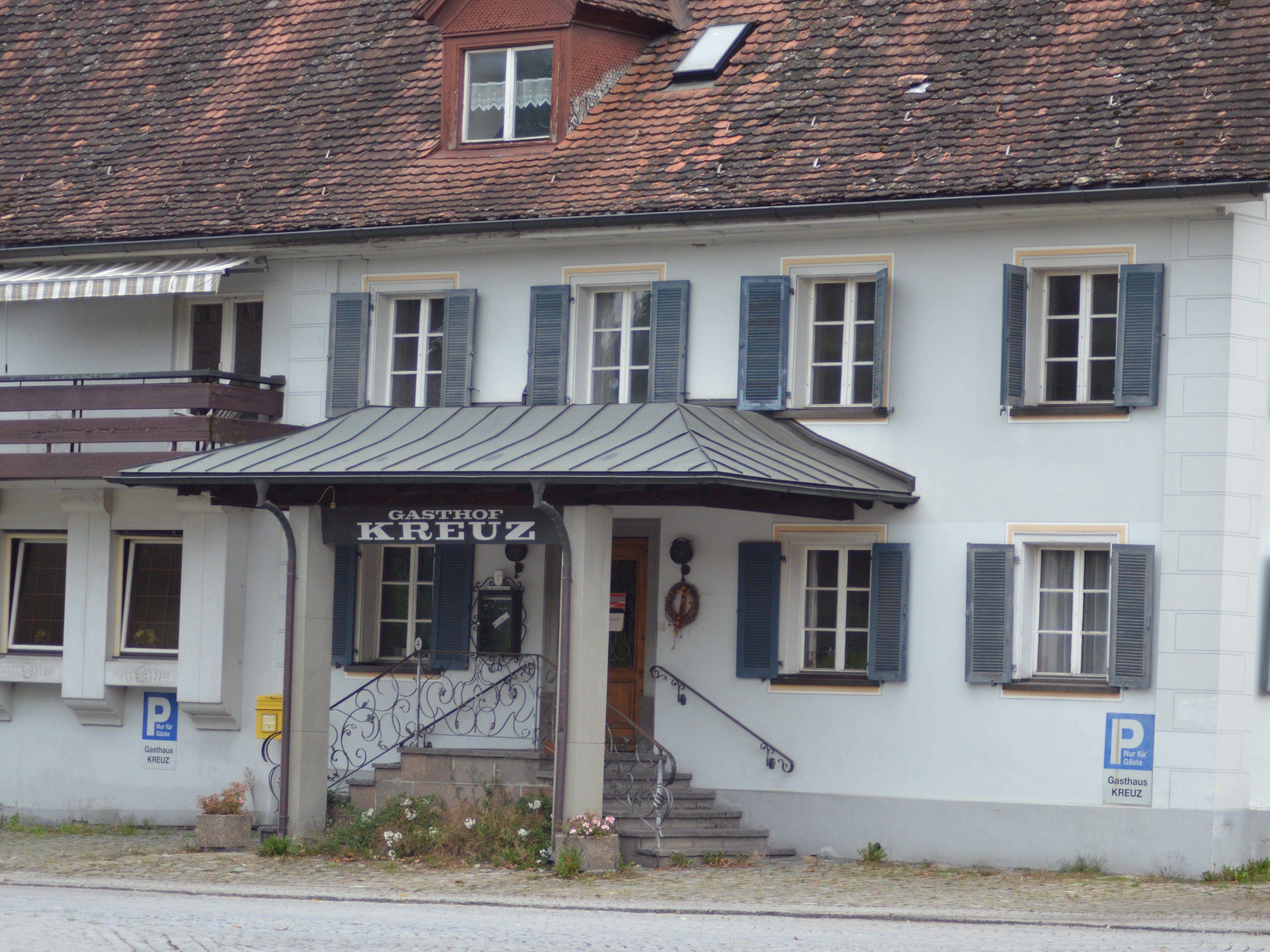 Das Rankweiler Traditionsgasthaus Kreuz bleibt den vielen Gästen erhalten.