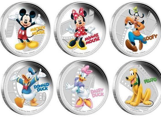 Der Pazifikstaat Niue zahlt mit Micky-Maus-Münzen.