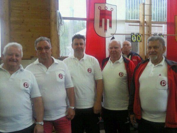 Vorarlberger PVÖ-Stockschützen bei der Bundesmeisterschaft in Kärnten