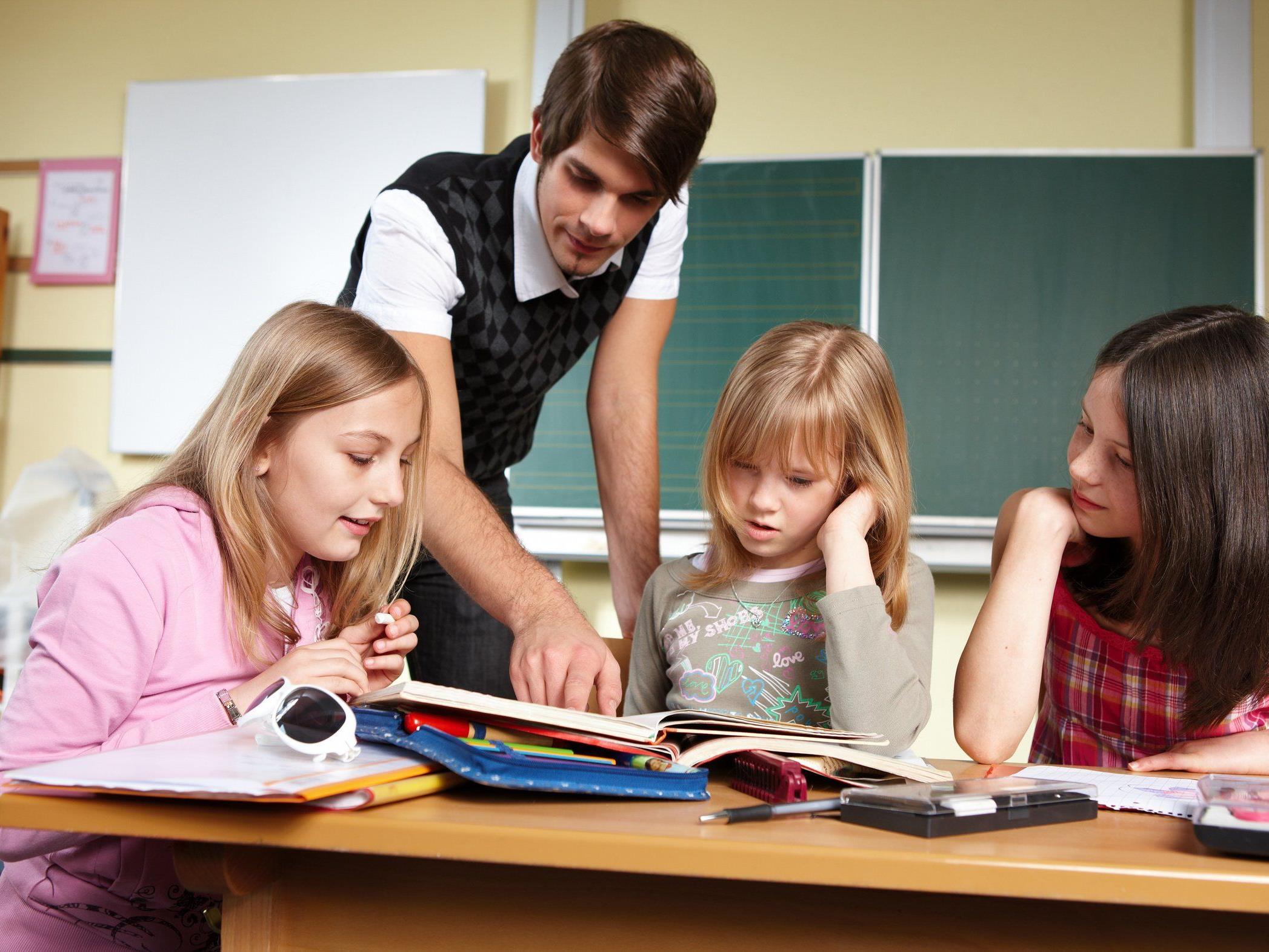 Es gibt kaum Männer in Kindergärten und Volksschulen.