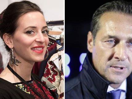 Designerin Lena Hoschek geriet mit H.C. Strache nach einem Facebook-Posting aneinander