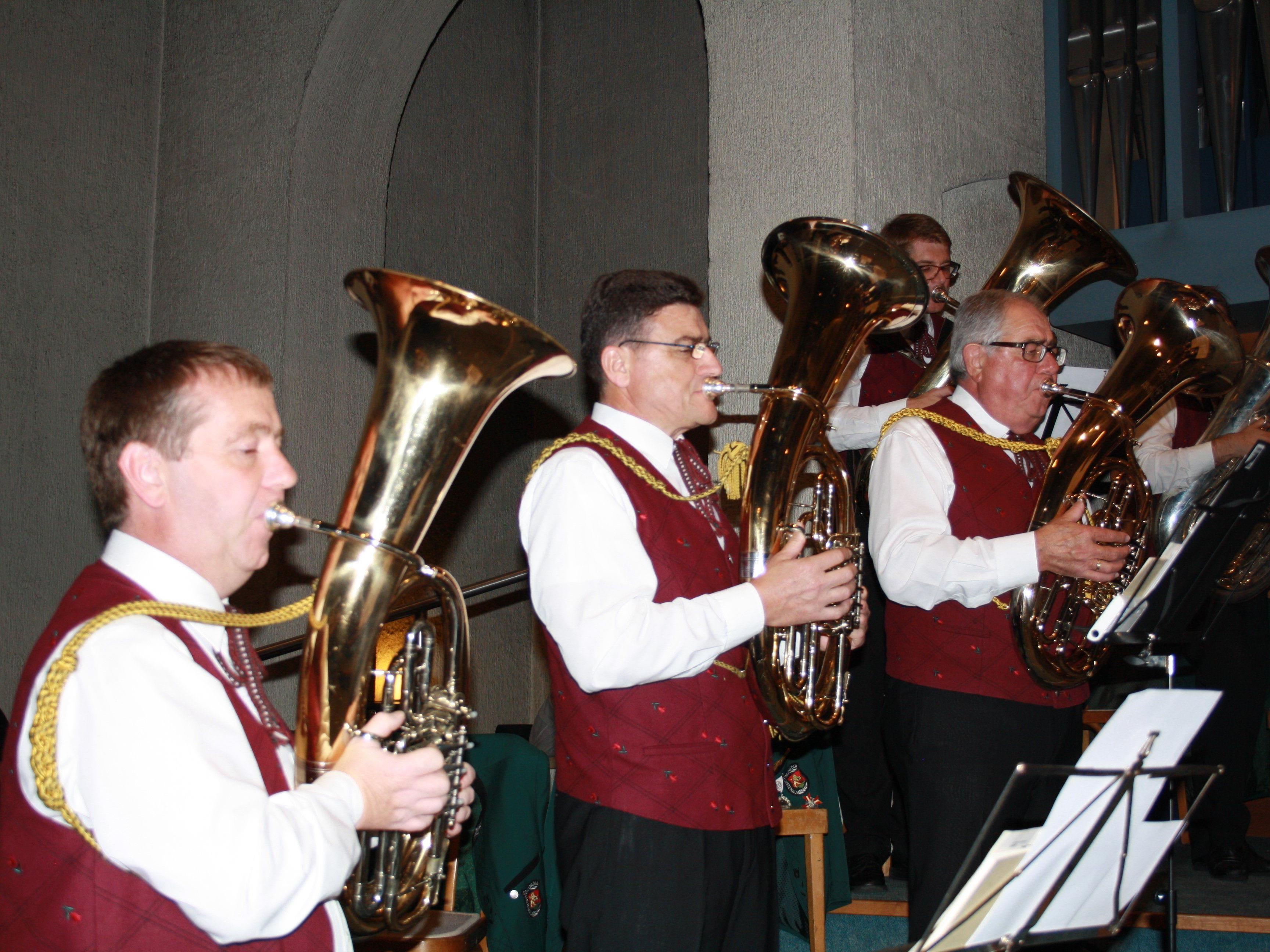 Ein Kirchenkonzert auf höchstem Niveau bot der MV Concordia Lustenau in der Erlöserkirche.