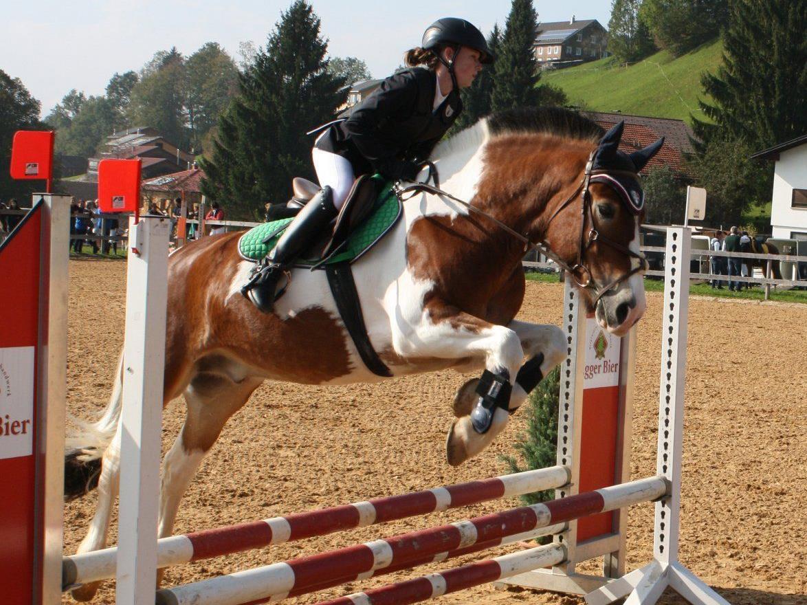 Vielseitigen Pferdesport gab es in Langenegg zu sehen.
