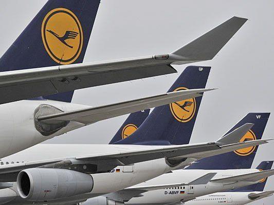 Der Lufthansa-Pilotenstreik betrifft auch Österreich-Flüge