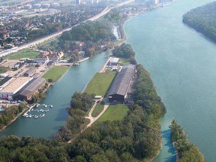 An der Donau bei Wien hofft man auf eine Ansiedlung eines Unternehmens.
