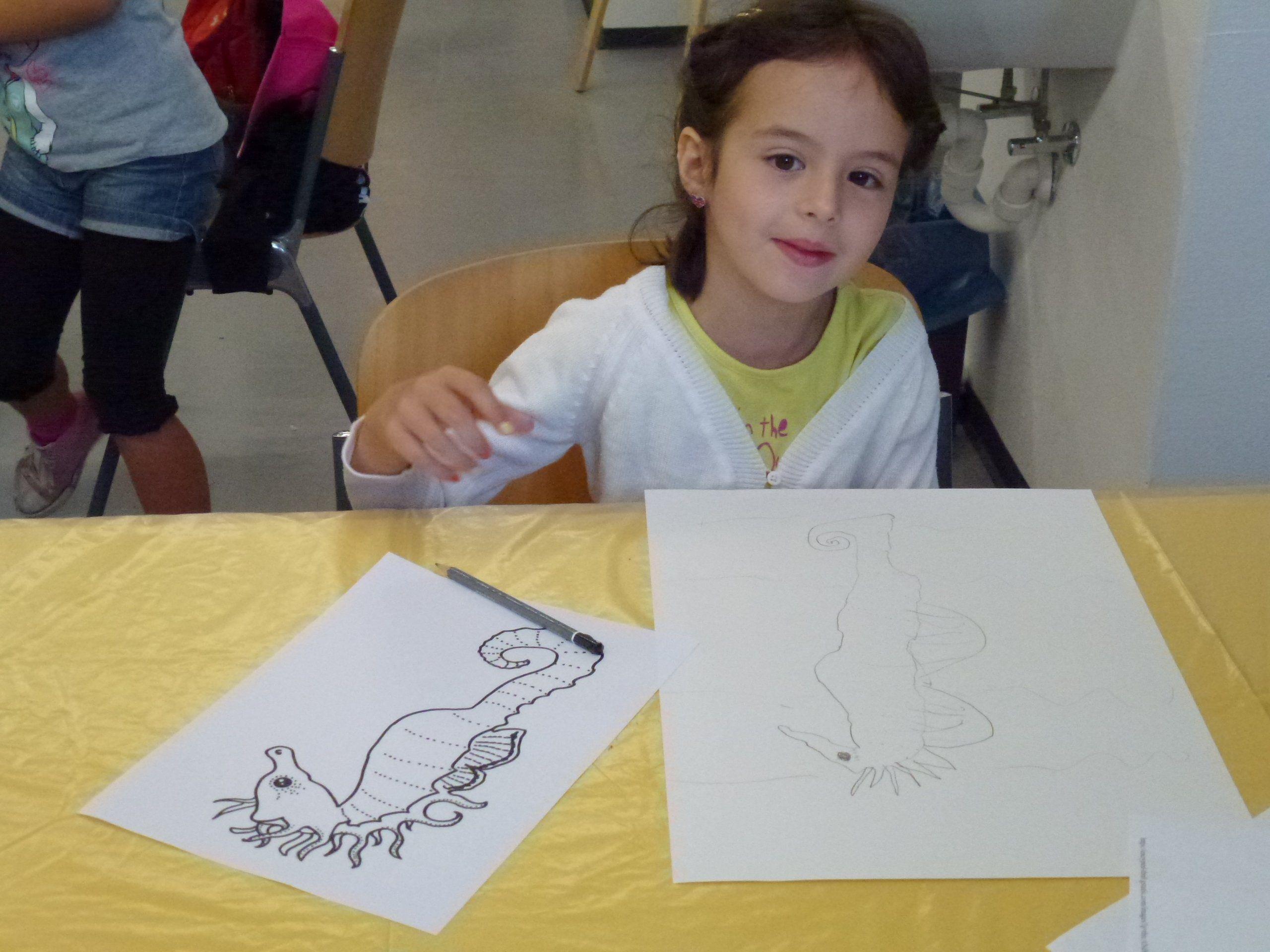 spielerischer Zugang zur Zeichung und Malerei