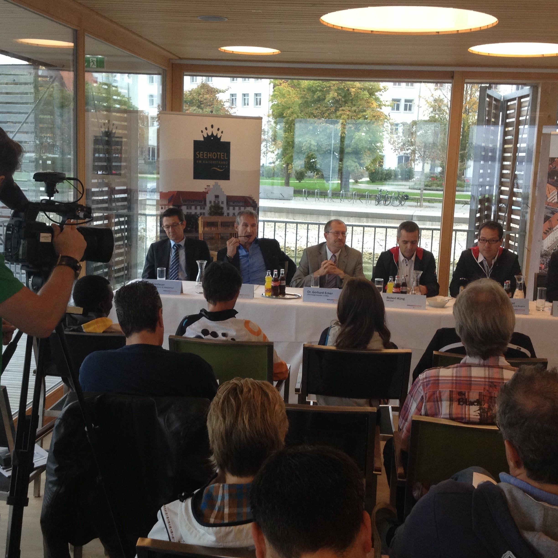 Letzte Infos gab es bei der heutigen Pressekonferenz in Lochau.