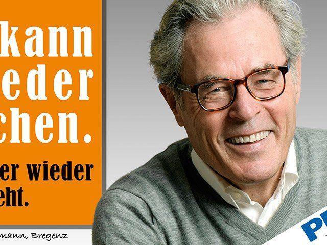 Der Bregenzer Franz Salzmann.