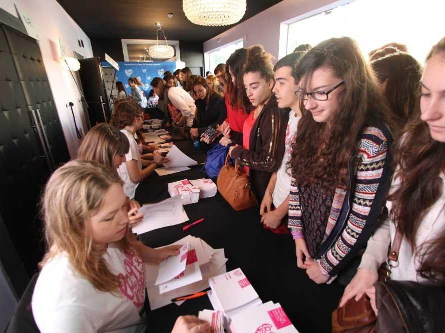 Besucheransturm beim Wertekongress in Spanien: Die erste deutschsprachige Auflage am 13. November im Festspielhaus Bregenz wird mit 1700 Jugendlichen ebenso ausgebucht sein.