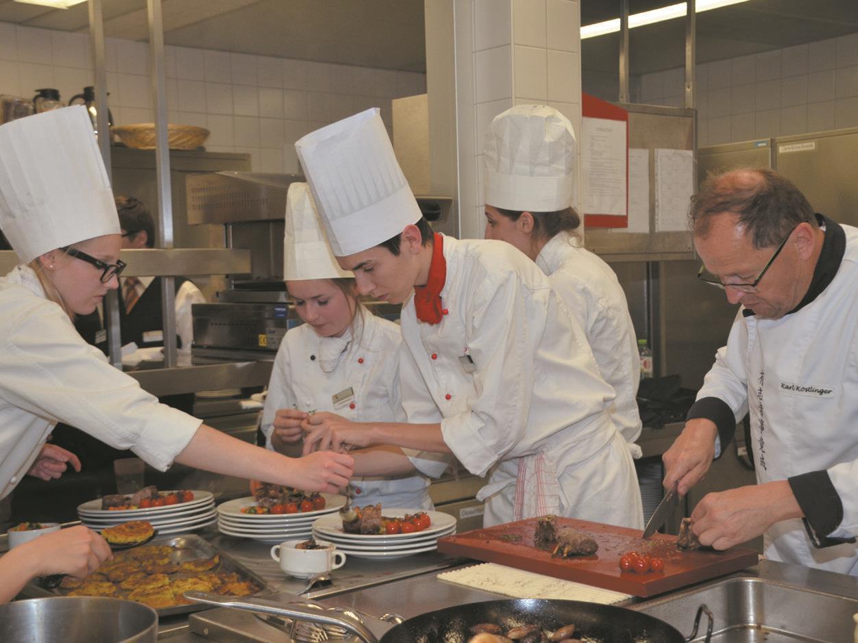 Vorarlberger Schulen übernehmen Catering bei den Jugendspielen.