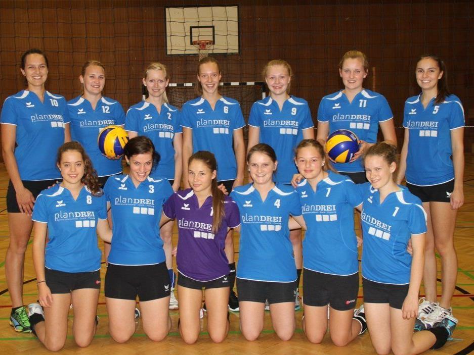 Die Egger Volleyballdamen pritschen und baggern von nun an in der 1. Landesliga.
