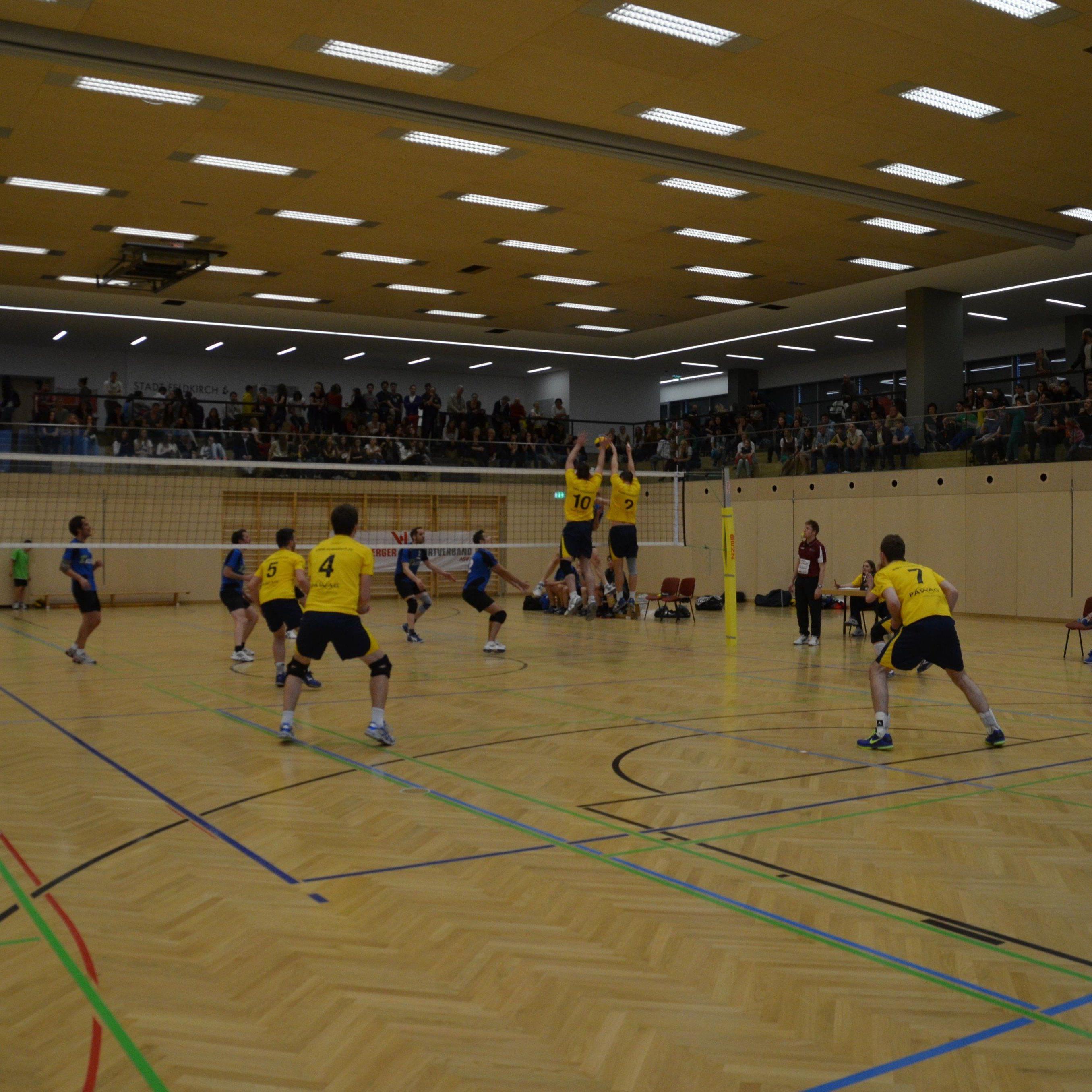 VC Wolfurt startet in Salzburg in die neue Saison.