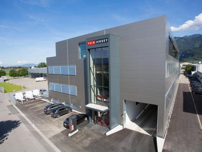 Feinjersey hat in Götzis um mehrere Millionen Euro neu gebaut.