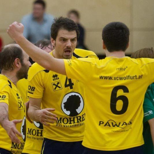VC Wolfurt unterlag Salzburg mit 2:3.