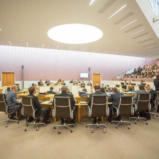 Landtag verabschiedet ehemalige Abgeordnete