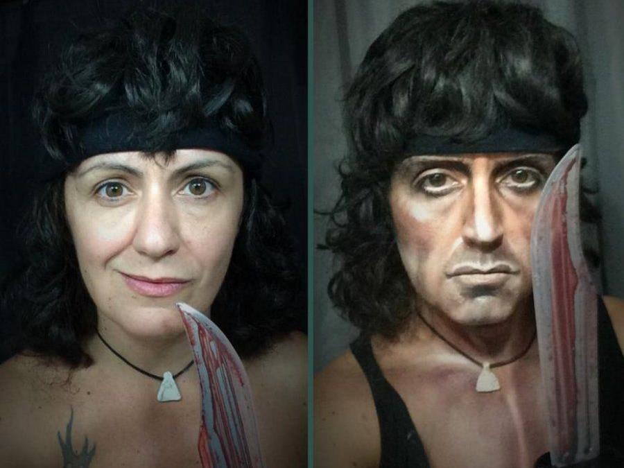 Aus Lupitta wird Rambo.