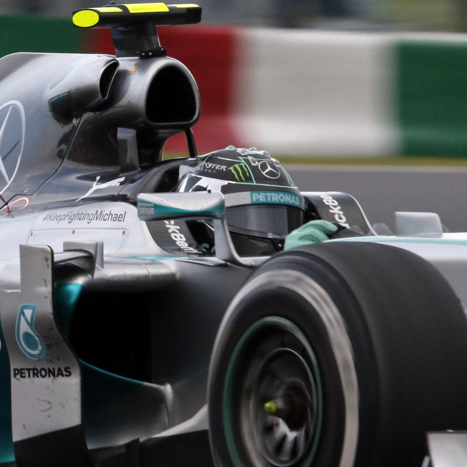 Ricciardo Sechster - Vierfach-Weltmeister Vettel nur Neunter.
