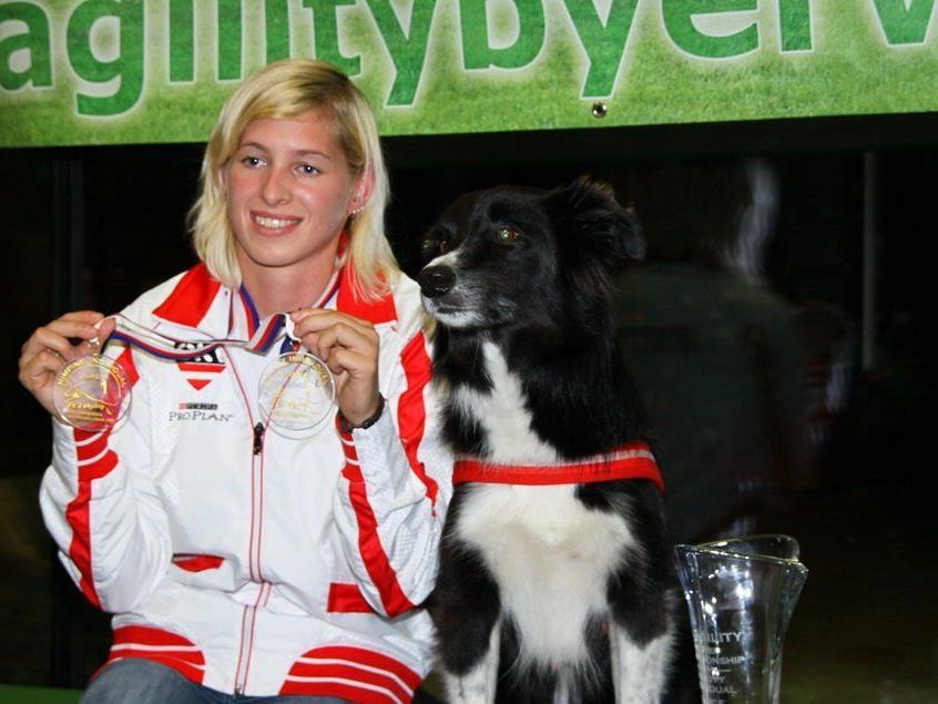 Die Rankweilerin Lisa Frick wurde zum vierten Mal Agility-Weltmeisterin.