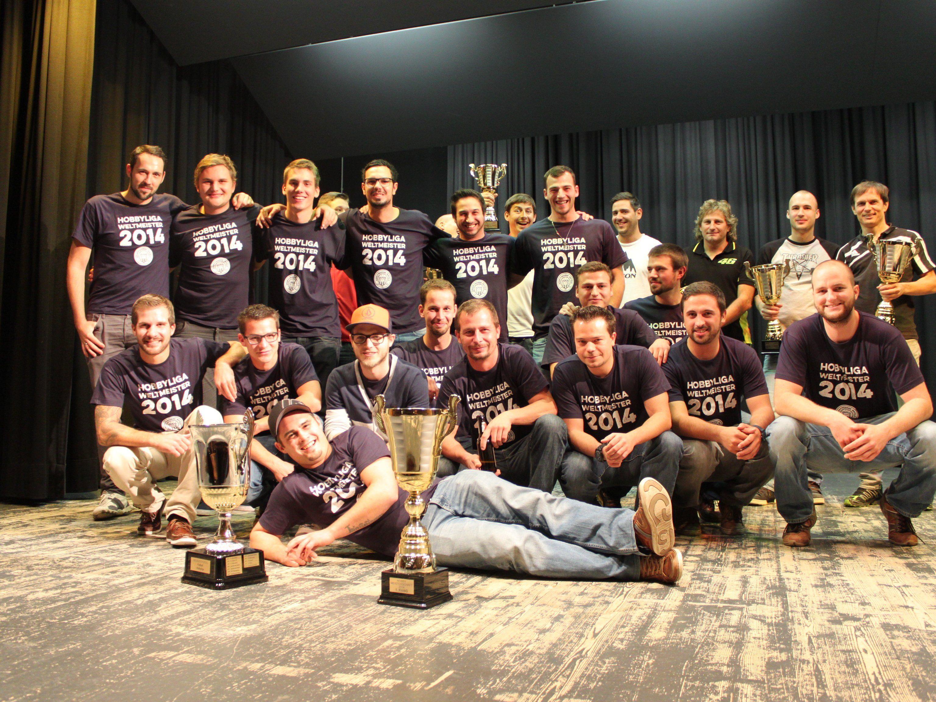 Verdienter Hobbyliga-Meister 2014: Sportfreunde Nofels