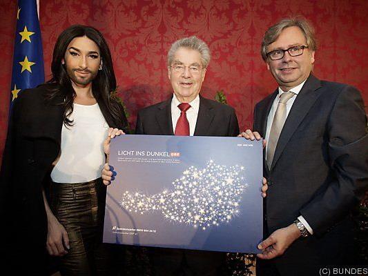 Spendenkampagne wurde in der Hofburg eröffnet