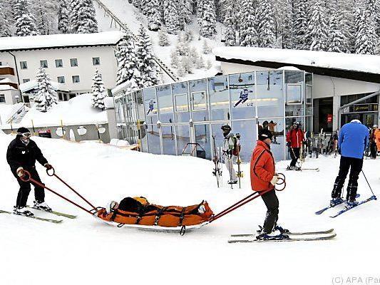 Zahl der Skiunfälle aber rückläufig