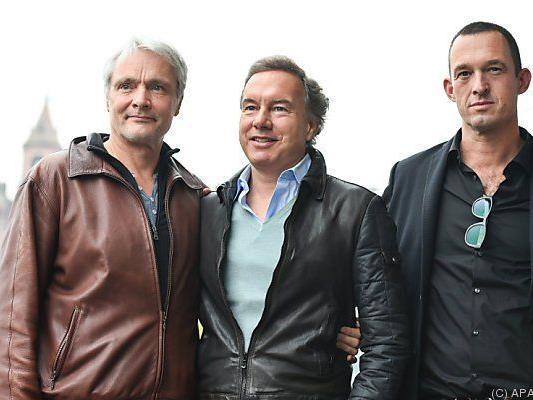 Thomas Schadt, Nico Hofmann und Albert Ostermaier