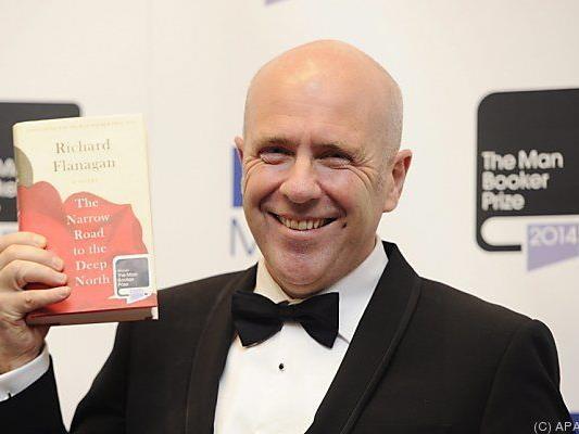 Flanagan ist Man-Booker-Preisträger