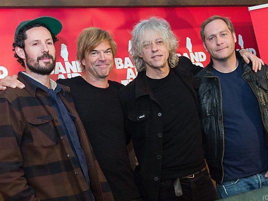 Max Raabe, Campino und Thees Uhlmann mit Geldof