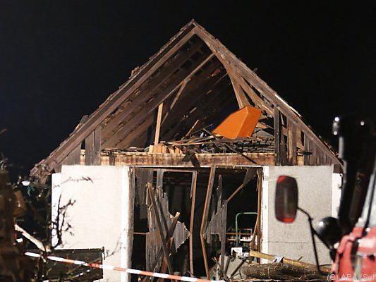 Haus explodierte in Kapfenstein