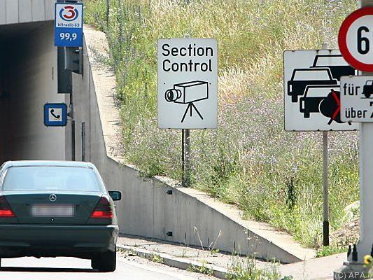 """""""Section-Control"""" misst über längere Strecke"""