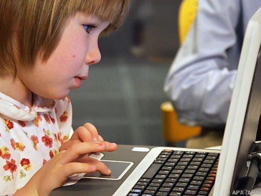 Zu viel Internet für Kinder