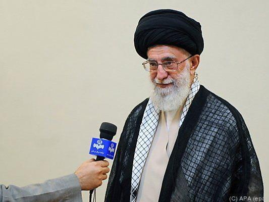 Ayatollah Ali Khamenei will keine Kritik