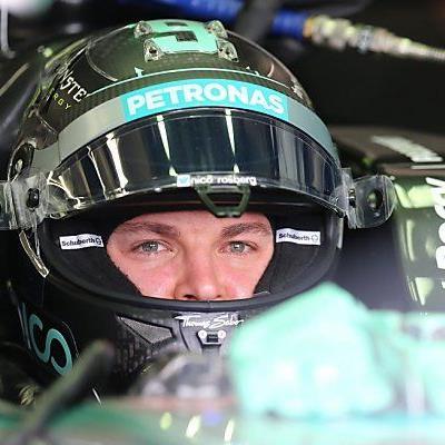 Nico Rosberg kann zufrieden sein