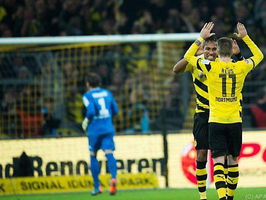 Der BVB kann in der Bundesliga endlich jubeln