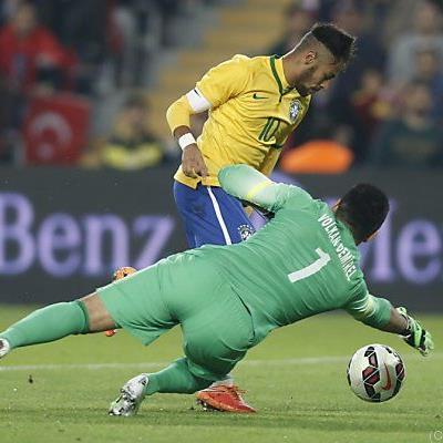 Gegen Brasilien war Volkan noch im Einsatz